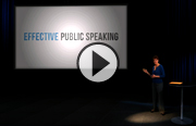 Click to launch the Effective Public Speaking video trailer