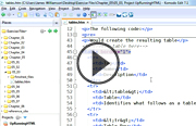 Click to view the Up and Running with HTML course page