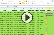 Click to launch the Managing and Analyzing Data in Excel with Facebook and Twitter video trailer