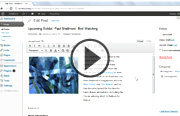 Click to launch WordPress Essential Training video trailer